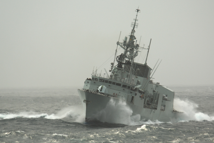 Warship, Royal Canadian Navy