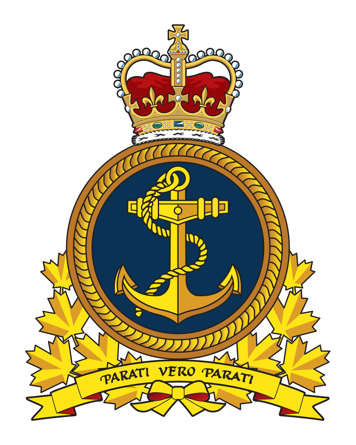 Royal Canadian Navy crest